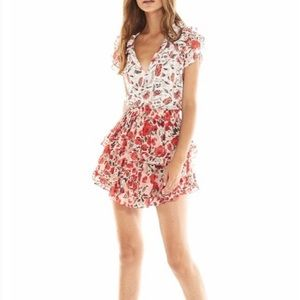 Misa Los Angeles Olga Floral Top Size Small NEW